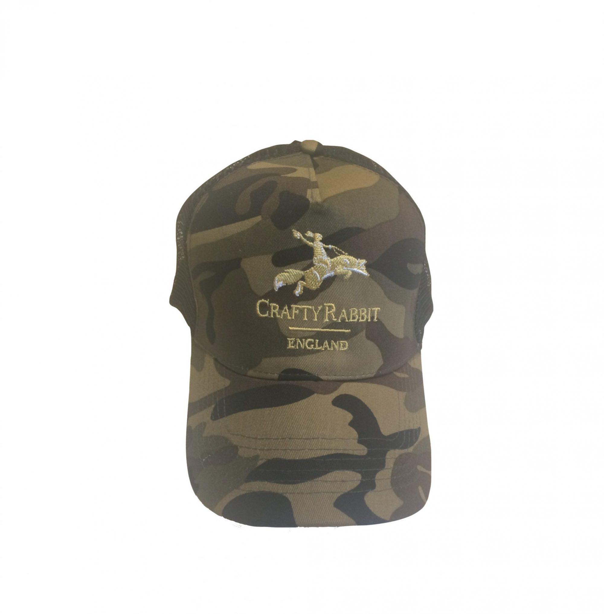 Camo camouflage cap stalking hunting fishing